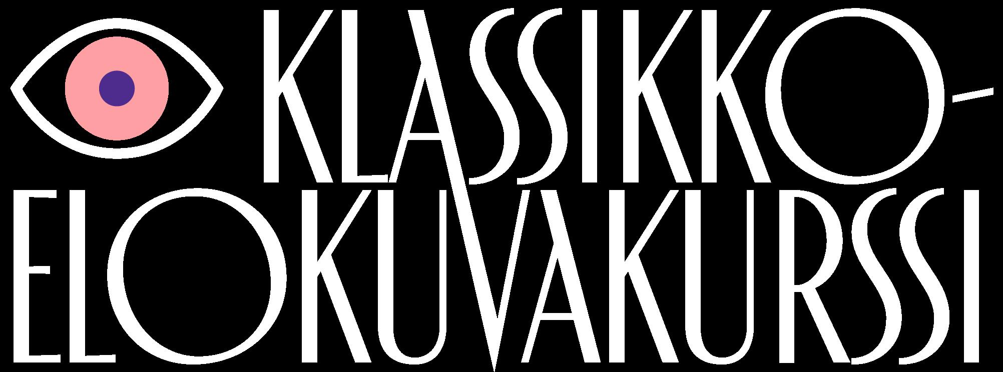 Klassikkoelokuvakurssin logo